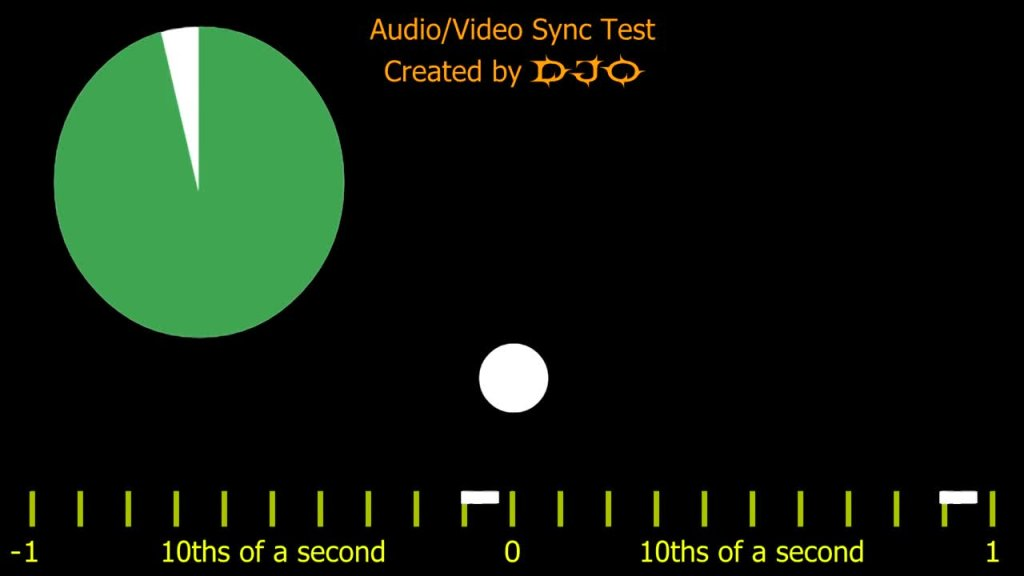Audio Video Sync Test